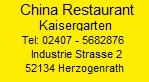China Restaurant Kaisergarten